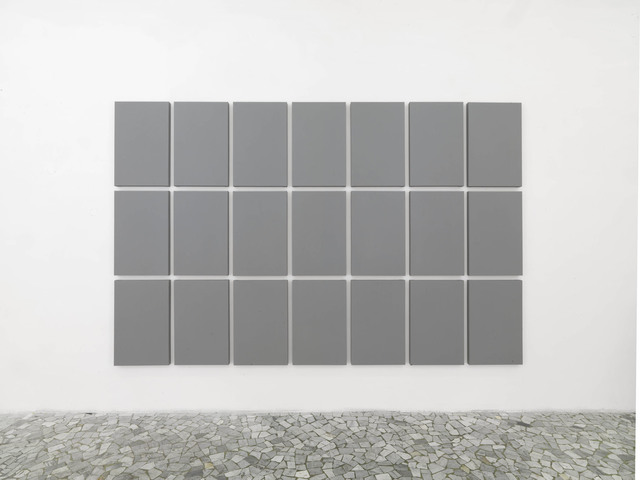 , 'Grid painting 3 x 7 ,' 2009, Alfonso Artiaco