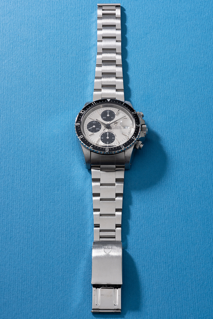 Tudor, 'A rare and fine stainless steel chronograph wristwatch with date, bracelet, guarantee and box', 1993, Phillips