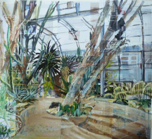 , 'Botanic Gardens, Oxford, Desert Hothouse II ,' 2017, Sarah Wiseman Gallery