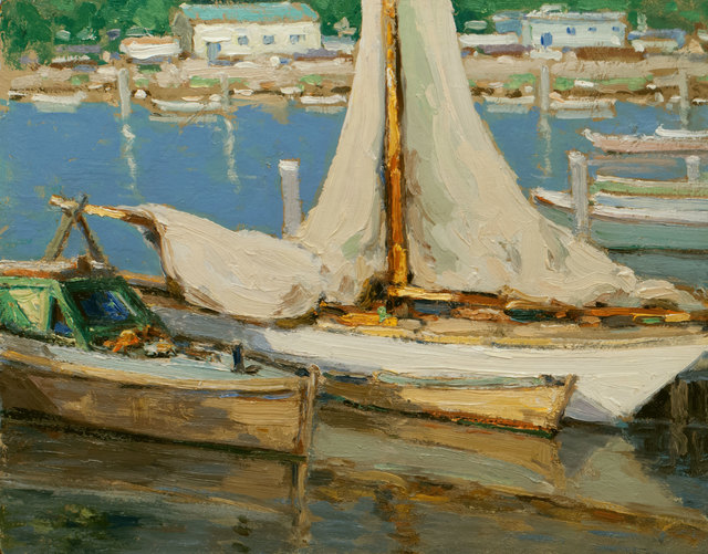 Walter Farndon, 'Lowered Sails', 19th -20th Century, Vose Galleries