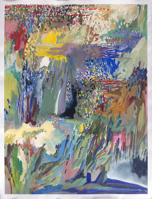 , 'English Gardens V,' 2012, Bubenberg