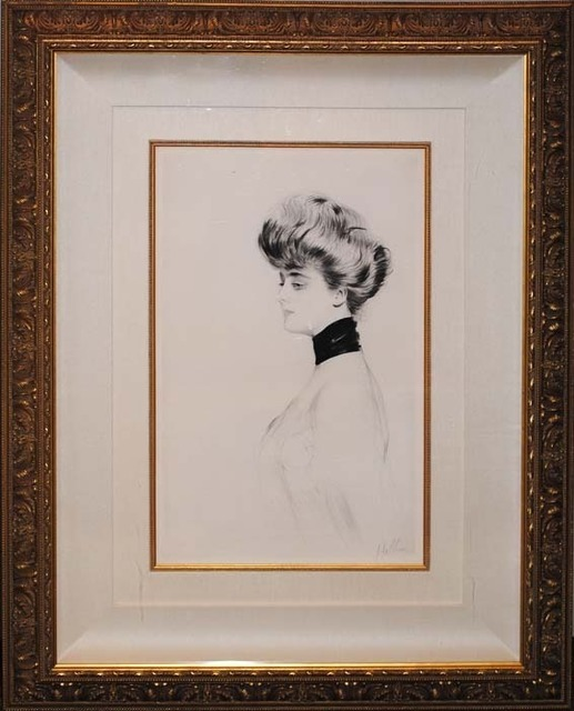 , 'Woman with Scarf, Facing Left,' ca. 1900, Contessa Gallery