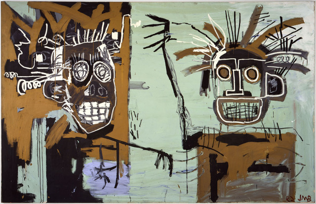 Jean-Michel Basquiat, 'Untitled (Two Heads on Gold)', 1982, Gagosian