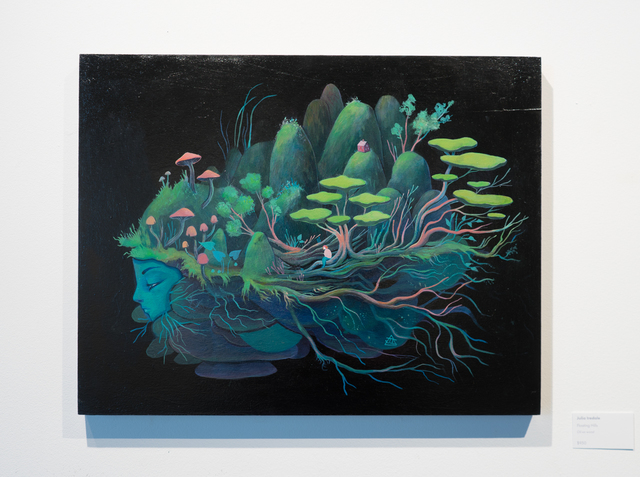 , 'Floating Hills,' 2017, Helikon Gallery & Studios
