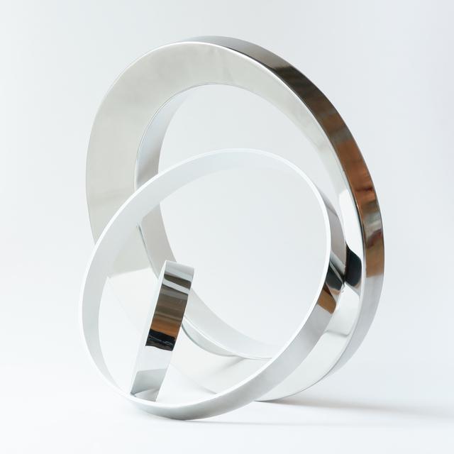 Philippe Pallafray, 'Gravity (White)', 2020, Sculpture, Stainless Steel, Newzones