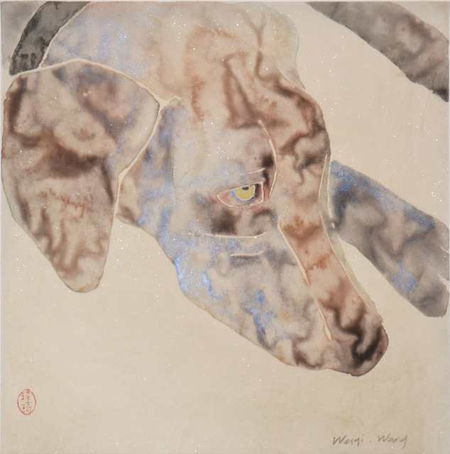Weiqi Wang, 'So Tired', 2014, Painting, Chinese brush painting, Ronin Gallery