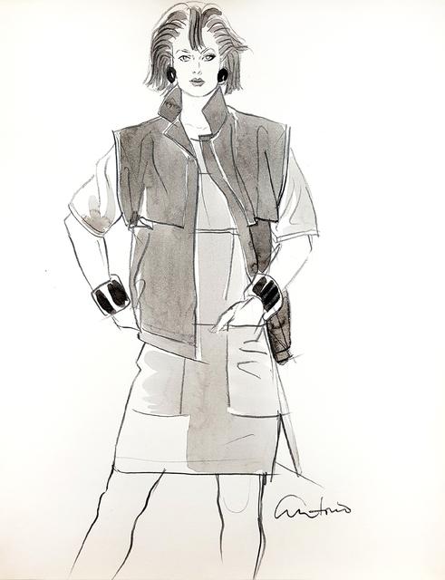 Antonio Lopez, 'Fashion Illustration,     Stylish 80's Woman ', 1980, Robert Funk Fine Art