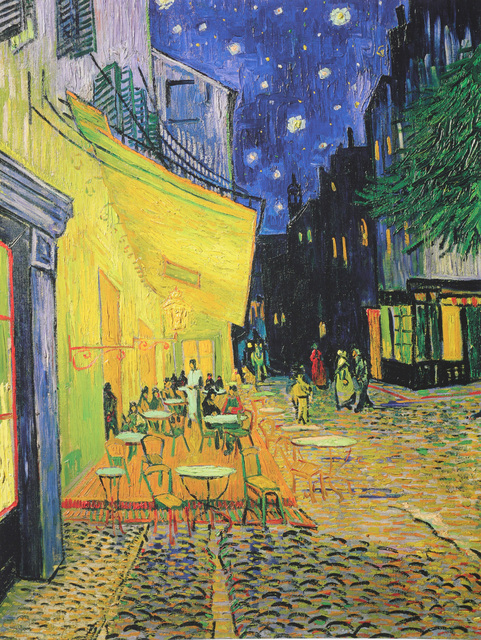 Vincent van Gogh, 'The Cafe Terrace On The Place du Forum, Arles'', Print, Coloured giclee print, Chiswick Auctions