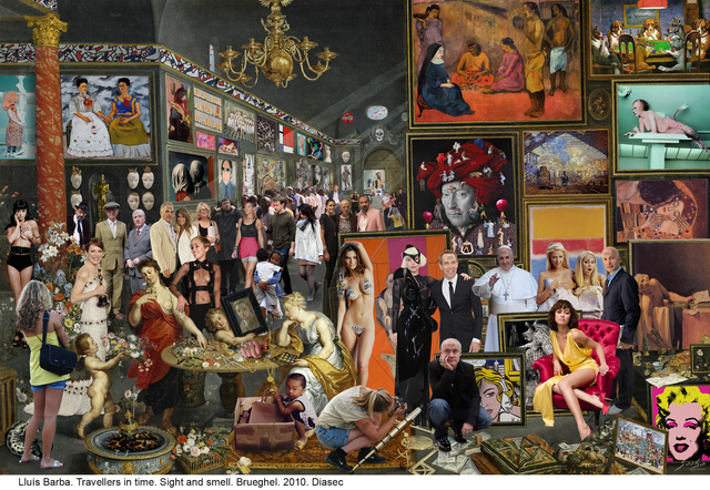Lluis Barba, 'Travellers in Time, Sight and Smell. (Brueghel & Rubens)', 2010, Aldo Castillo Gallery