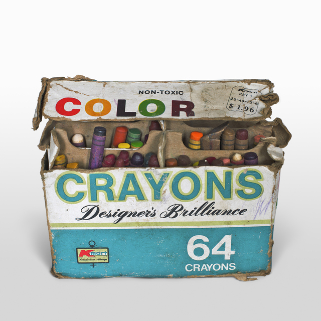 , '64 Crayons from USA ,' 2009, Aki Gallery