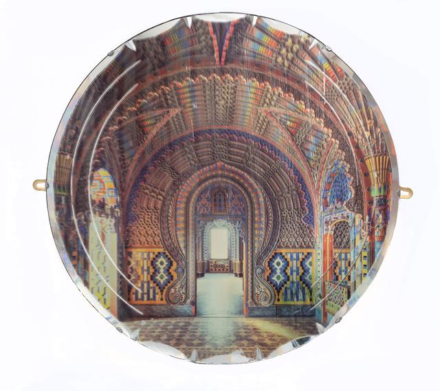 , 'Peacock Castle on Mirror ,' 2019, Charlie Smith London
