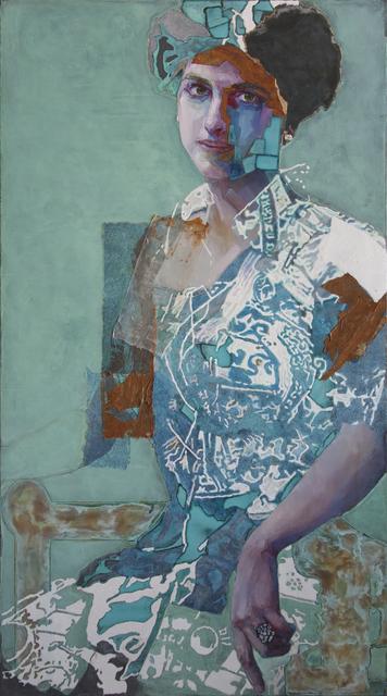 Piet van den Boog, 'Girl with the Pearl Earring II', 2018, Zemack Contemporary Art
