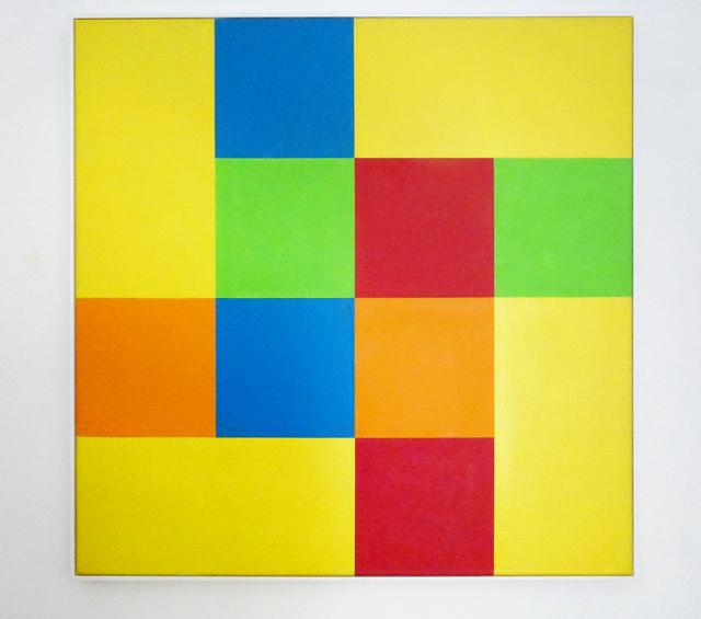 , 'Gruppe von acht Quadraten mit vier Rechtecken,' 1952-1975, Galerie nächst St. Stephan Rosemarie Schwarzwälder