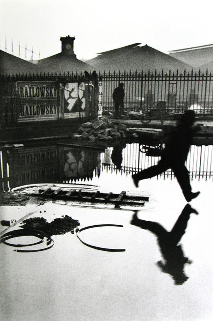 Henri Cartier-Bresson, 'Behind the Gare Saint-Lazare, Pont de l'Europe, Paris', 1932, Photography, Gelatin silver print; printed later, Howard Greenberg Gallery