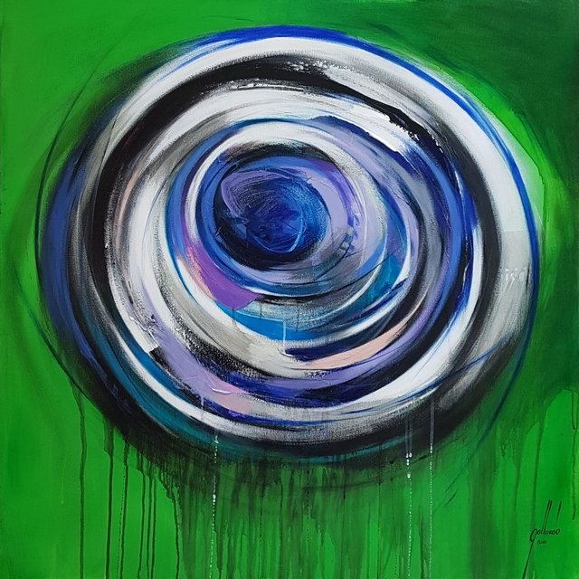 Pedro Gallardo, 'Thinking in Circles III', 2019, Saphira & Ventura Gallery