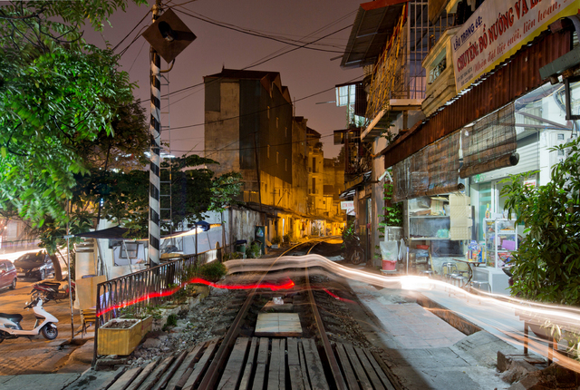 , 'Hanoi 18h/6h 49,' 2014, Art Vietnam Gallery