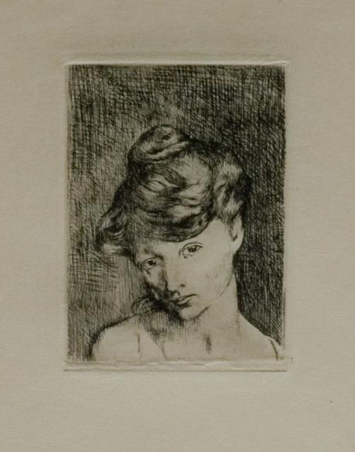 , 'Tête de Femme,' 1905, John Szoke