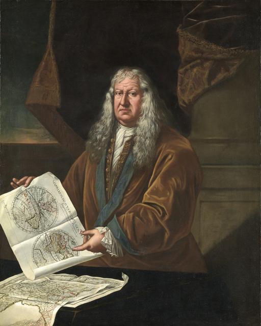 , 'Portrait of a Cartographer,' 1712, Brun Fine Art