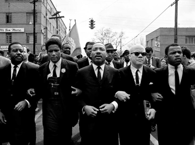 , 'Martin Luther King Marching For Voting Rights, Selma,' 1965, Atlas Gallery