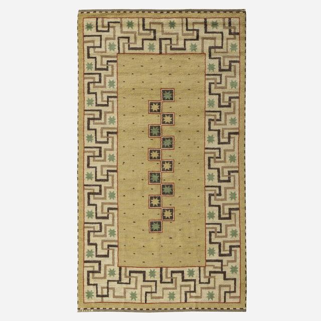 Marta Maas-Fjetterstrom AB, 'Il Greco pile carpet', 1935, Wright