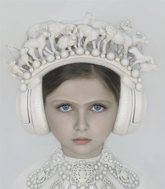 , 'Menina 3,' 2016, Fernando Pradilla/El Museo