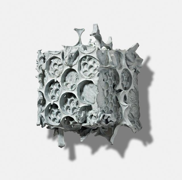 , 'Small White Collage Box,' 2016, Gallery NAGA