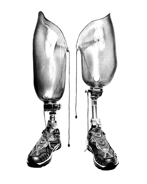 , 'SERVICE: Prosthetic legs. Walter Reed Army Medical Center.,' 2008, Milk Gallery