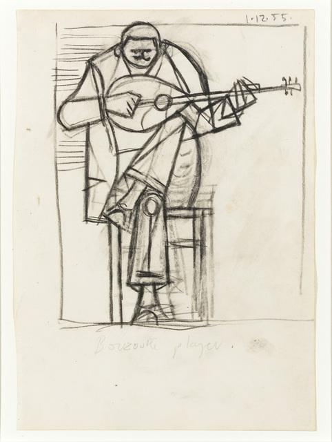 , 'Bouzouki Player I,' 1955, Osborne Samuel