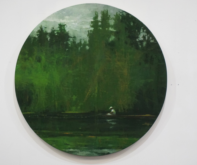, 'Fisher on the Marañón River, Jungle series,' 2014, Artistics