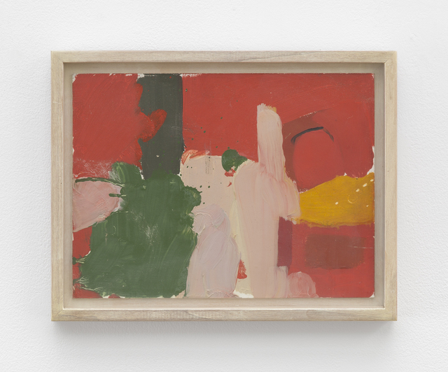 Fairfield Porter, 'Untitled [abstract-red and green]', Betty Cuningham