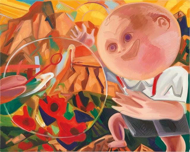Dana Schutz, 'Boy with Bubble', 2015, Phillips