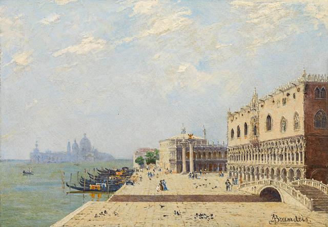 , 'Doge's Palace in Venice,' ca. 1890, Galerie Kovacek & Zetter