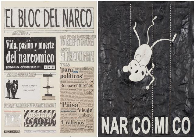 , 'El Bloc Del Narco #7,' 2016, Steve Turner