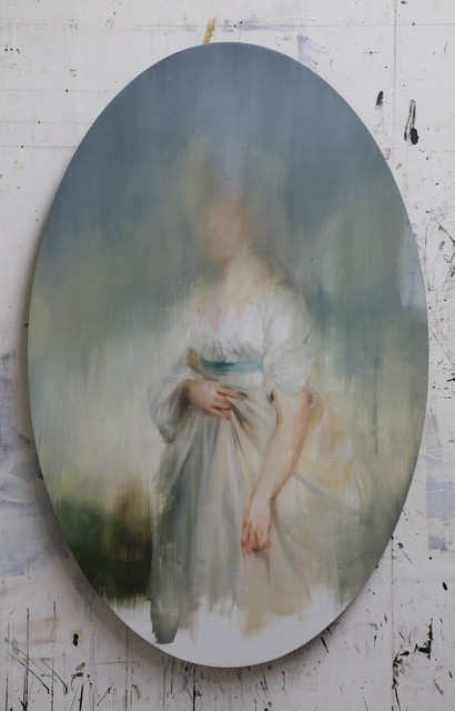 Jake Wood-Evans, 'Study for Princess Sophia, Daughter of George III, after Beechey', 2019, Unit London