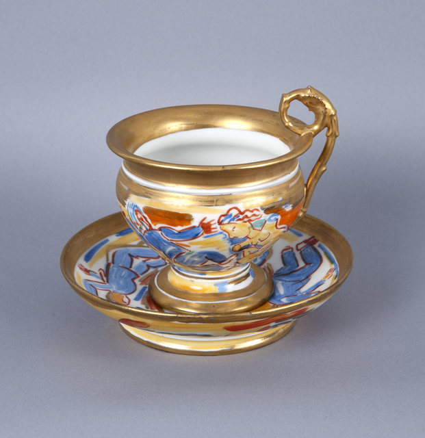 Viola Frey, 'Untitled (Cup and Saucer) A la Manufacture de Sevres Series ', 1986, Nancy Hoffman Gallery