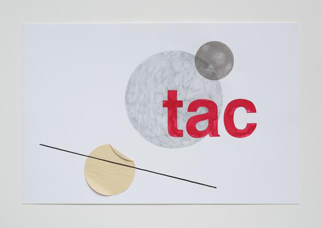 , 'Tac (animation frame),' 2016, Galeria Luisa Strina