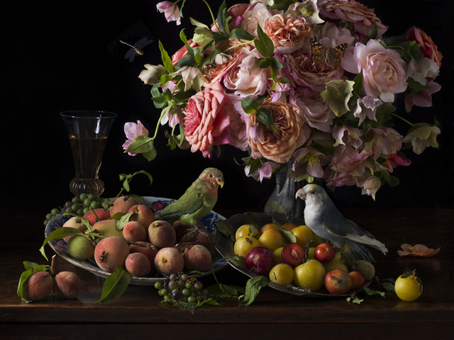 , 'Birds and Bees,' 2018, Robert Mann Gallery