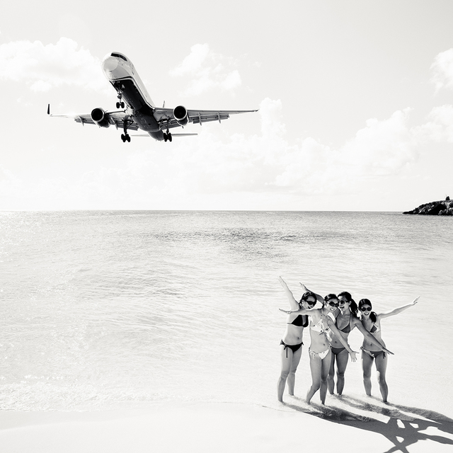 , 'Jet Airliner 64, US Airways Boeing 757-200, St. Maarten,' 2011, Local