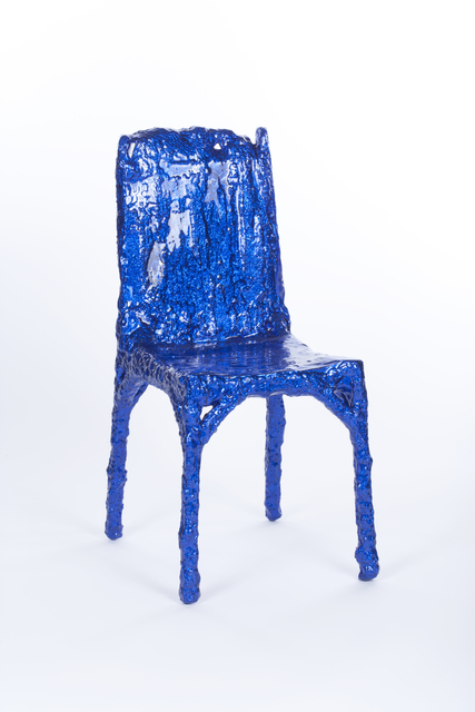 , 'Blue ALUFOIL Chair,' 2013, Johnson Trading Gallery