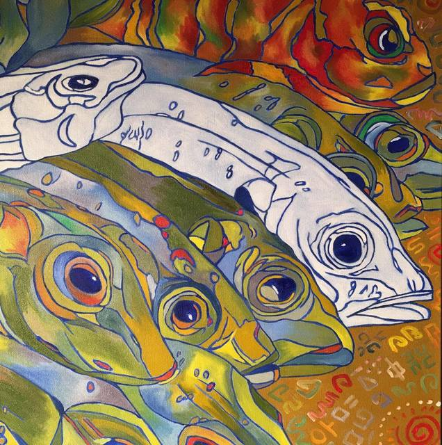 , 'Fish Heads No.2,' 2016, Space 776