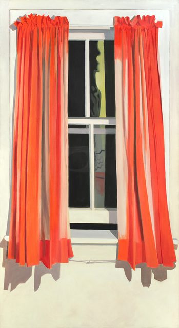 , 'Night Window - Red Curtain,' 1972, Alexandre Gallery