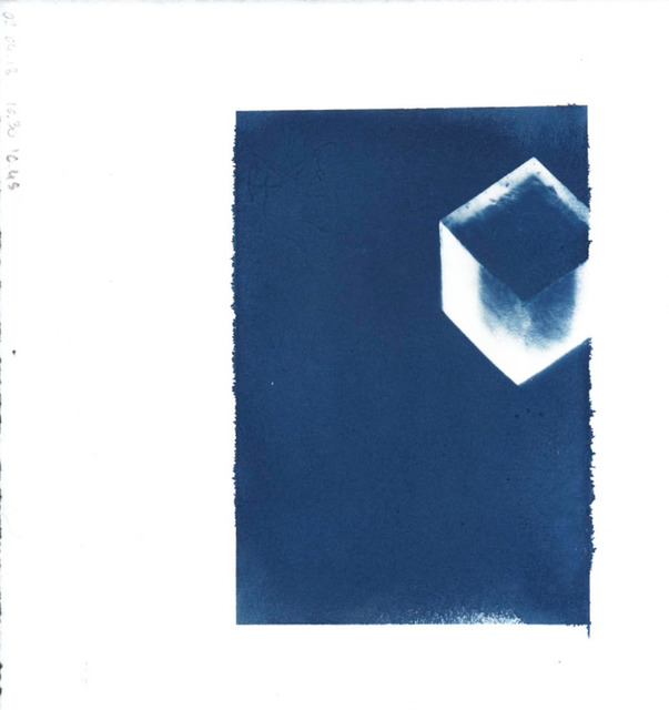 Delphine Burtin, '02.04.2018, 10:30 – 10:49', 2018, Photography, Cyanotype on paper, GALLERY FIFTY ONE