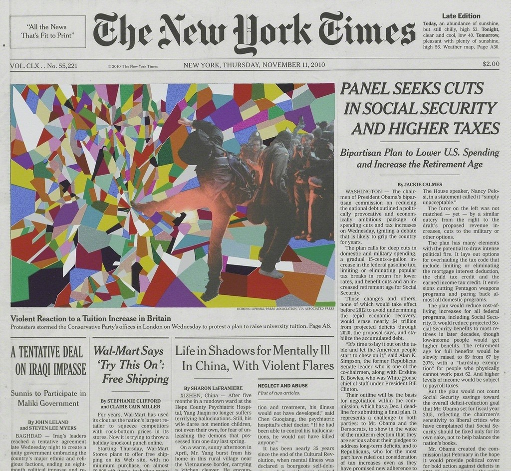 Fred Tomaselli, 'Nov. 11, 2010,' 2011, White Cube
