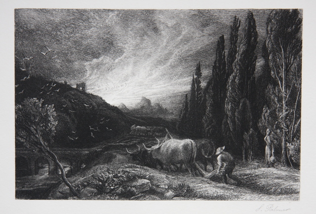 , 'Early Ploughman or The Morning Spread Upon the Mountains,' 1861, Gerrish Fine Art