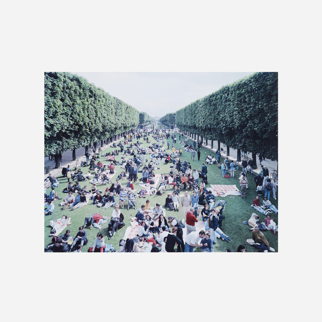 Massimo Vitali, 'Picnic Allee (from the Landscapes with Figures portfolio)', 2006, Wright