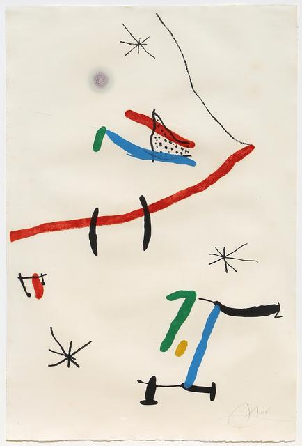 Joan Miró, 'Barcelona, Plate 12 (Dupin 603)', 1973, RoGallery