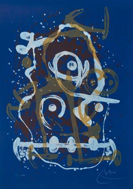 Joan Miró, 'Chevauchée bleu-brun', 1969, Art Market Liaison