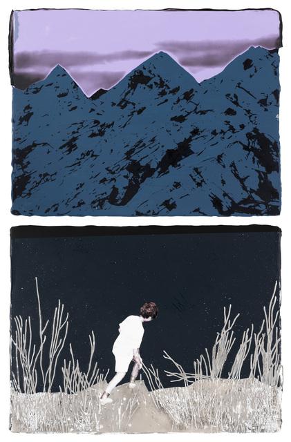 , 'Climbing solo to the infinite peak,' 2016, Yiri Arts