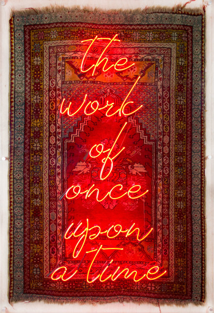, 'The Work of Once Upon a Time - Evvel Zaman İşi,' 2018, Anna Laudel