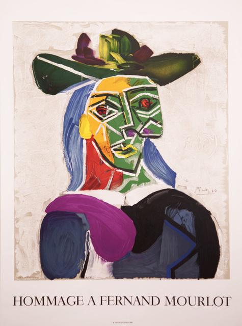 Pablo Picasso, 'Hommage a Fernand Mourlot', 1990, Zuleika Gallery